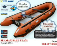 Factory Direct : Ocean Pro 530T- 17.5 ft Hypalon inflatable Boat