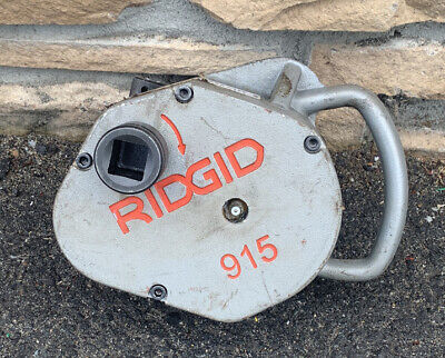 Ridgid 915 In-air Pipe Roll Groover Rigid 300 700 1224 975 916 918 960 Lite Use