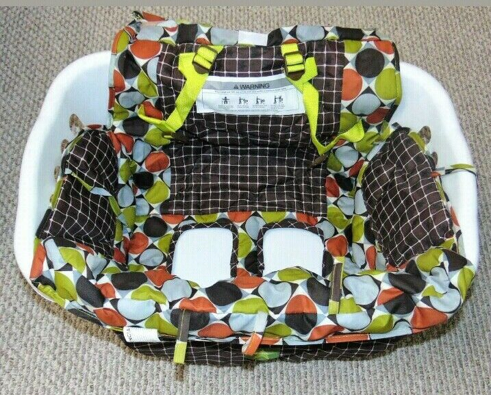 JEEP Shopping Cart & High Chair Cover Colorful Circles Unisex EUC
