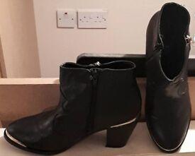 F&F Black Boots - Size 7 - Worn a few times - £5
