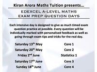 Edexcel A-Level Maths Exam Prep Days | Qualified Teacher & Tutor