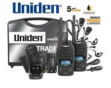 UNIDEN UH850S-2TP TWIN Tradie Pack 5 Watt Rugged Handheld CB UHF