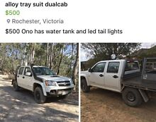 Alloy Dual cab ute tray Rochester Campaspe Area Preview