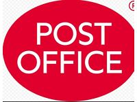 Post office staff required, immediate start