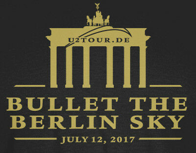 U2 tour Berlin Tourshirt 2017 - Damen Größe L