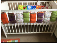 **Hensvic Ikea cot *year old hardly used**