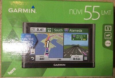 Garmin Nuvi 55Lmt Gps Navigation System With Lifetime Maps And Traffic 5  Displa