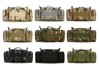 10L Outdoor Camo Shoulder Military Tactical Travel Camping Hiking Trekking Bag