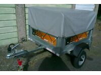 Trailer Erde 102 with high extension kit