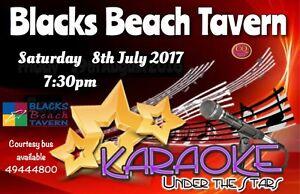 Blacks Beach Tavern & Karaoke Under The Stars 8/7/17 Mackay Mackay City Preview