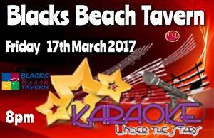 Blacks Beach Tavern & Karaoke Under The Stars 17/3/17 Mackay Mackay City Preview