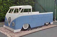 Vw kombi kids car bed volkswagen split screen splitty beetle Merewether Newcastle Area Preview