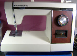 KENMORE PORTABLE 14 STITCH FREE ARM SEWING MACHINE HEAVY DUTY