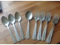 Silver Plated Art Deco Cutlery
