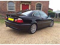 *RARE* BMW coupe 2000 pre facelift 330ci 80k