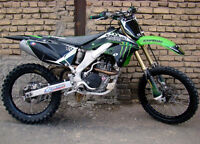 WANTED BLOWN UP,WRECKED ROUGH,PROJECT KX 250F-CASH READY