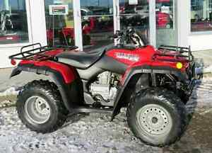 looking for a mint condition honda 350 4x4 2000 to 2003