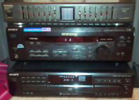Semi-Vintage Stereo Equipment $150 for all