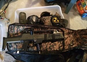 Paintball gear ( complete set )