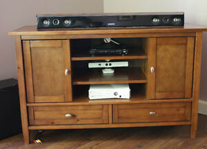 TV Stand with matching End Tables