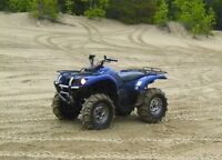 2005 Yamaha 660 grizzly. Low km with extras