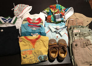 Lot vêtements 2x2 et krickets garçon - 12 mois