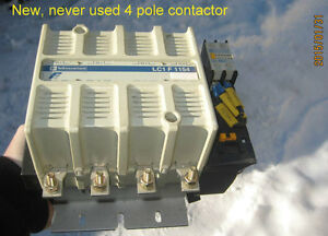 4 pole heavy duty telemechanique contactor