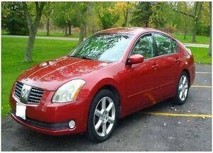 2004 Nissan Maxima SE Sedan Certified FLORIDA CAR with LOW KM's!
