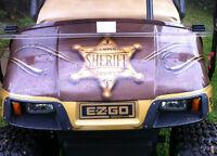 WOWWWWW.... soyez différent..Timberland 2009 - golf cart Sheriff