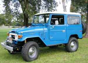 Wanted Toyota Land Cruiser FJ40