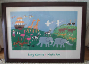 Lucy Cousins art print Noah's Ark Children's Child's Room Decor