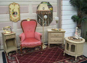 Shabby Chic bedroom Accents (French Ivory)