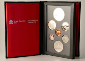 1987 Canada Double Dollar Proof Coin Set