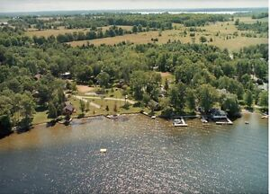 Rental cottages on Balsam Lake