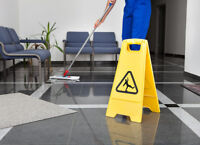 Willing to take on new cleaning contracts