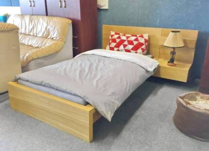 DELIVERY TODAY MODERN Single Wooden bed with mattress QUICK SALE Perth Region Preview