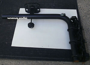 Used Sportrack  for 3 bikes rack and rear tire on SUV