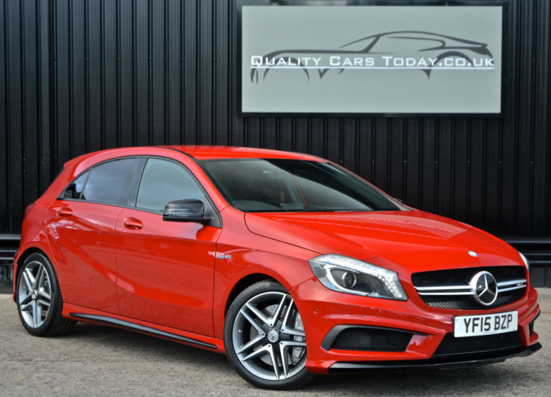 2015 Mercedes A45 AMG 2.0 Turbo ( 360bhp ) 4MATIC 7G-DCT *Jupiter Red+ VAT Q*