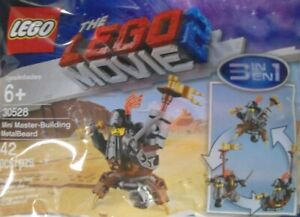 Metal Beard Lego Minifigure in polybag kit from Lego Movie 2