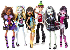 Monster High Dolls..Wanted