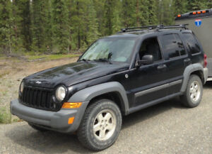 2006 Jeep Liberty 2.8L CRD 4x4 Diesel for sale.