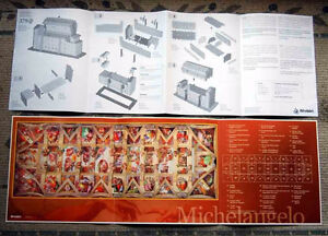 Very Rare-double-sided 3D  SISTINE CHAPEL Wrebbit puzzle London Ontario image 2