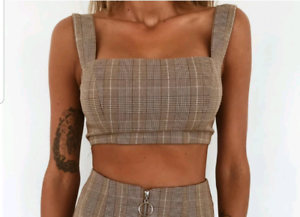 Tiger Mist XS Crop Top