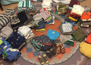 Baby boy lot of clothes, 6 to 12 months