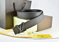 Brand New Louis Vuitton Brown On Brown Real Leather Belt