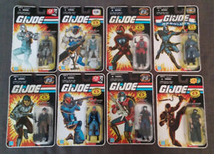 GIJOE Modern Era Collection Mint in package LOTS of G.I.JOE