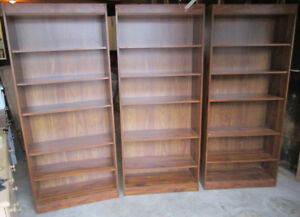 Three matching bookcases 4 sale