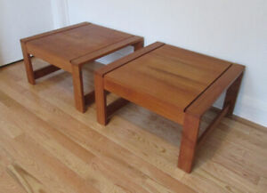 Gorgeous Mid Century VTG Teak Coffee Tables / Like New Condition