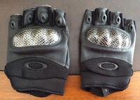 Paintball airsoft Carbon knuckle gloves NEW