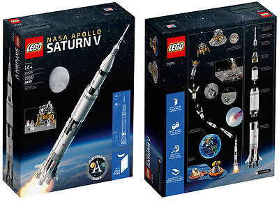 Lego 21309 Space Ideas Nasa Apollo Saturn V   Brand New